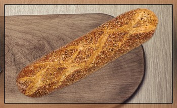Pão Grand Cereais Lalos, 8x1,1Kg