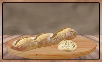 Baguettine Sanduiche Rustique, 25x140g