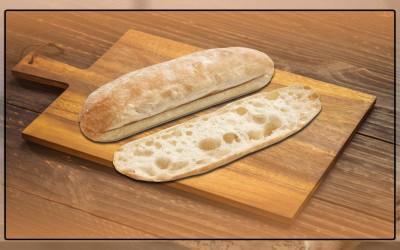 Pão Levain Sanduiche Cristal 18cm, 28x65g