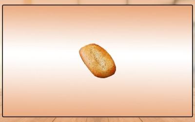 Mini Pão Farelo de Trigo, 150x40g