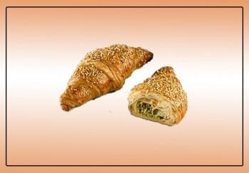 Croissant Queijo e Espinafre, 48x90g