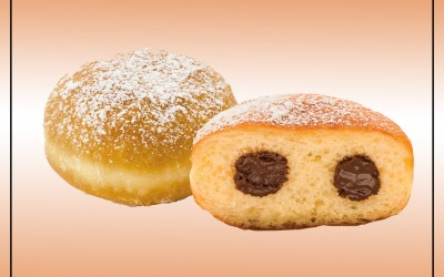 Donuts de Chocolate Avelas 44x70g