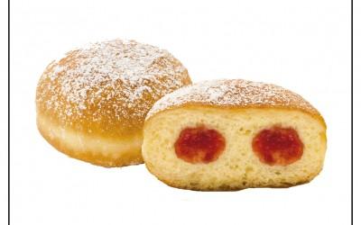 Donuts de Framboesa 44x70g
